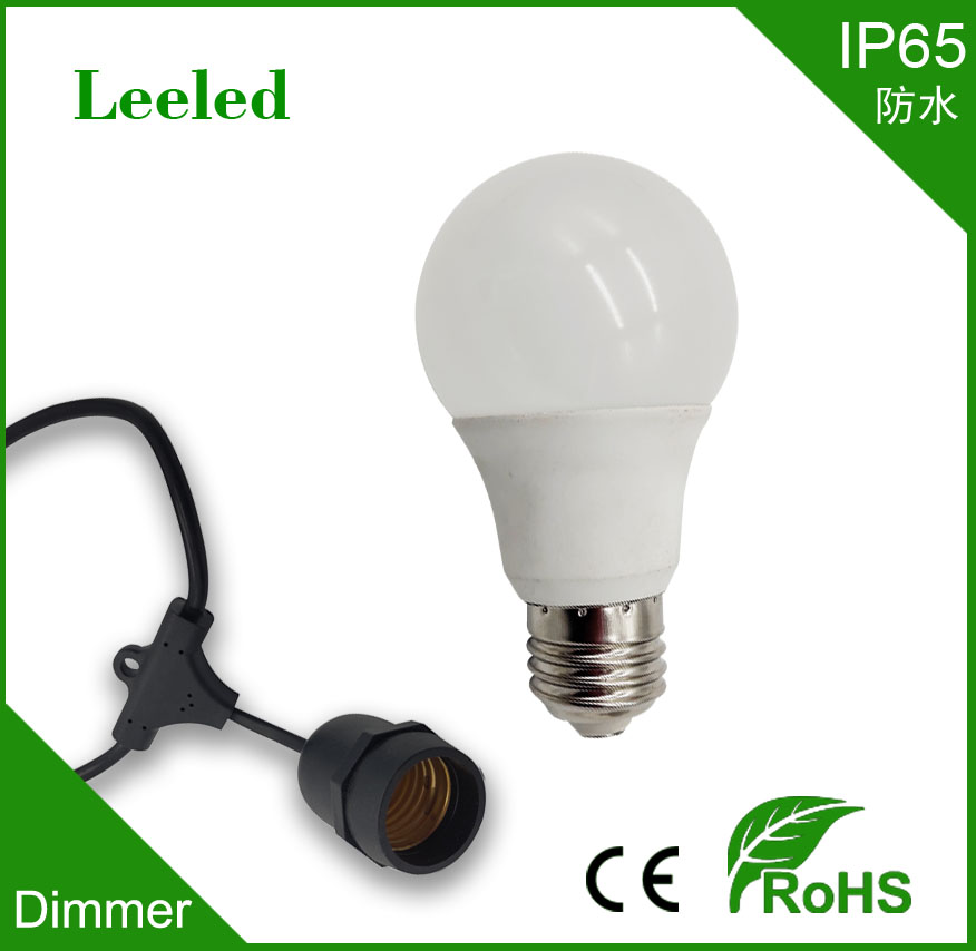 IP65 Dimmer LED bulb light